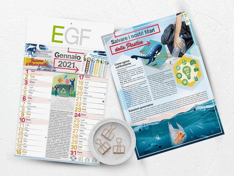 EGF calendario personalizzato