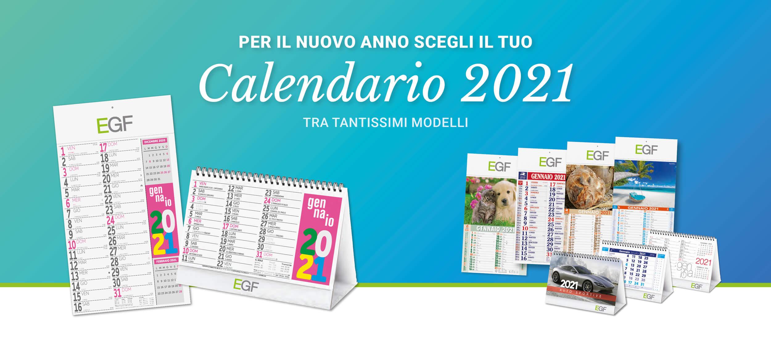 calendario promozionale